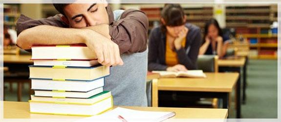 (hanya ketika mepet) Tips Menghadapi Jenuh Kuliah