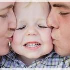 Sudahkah kita mencium anak kita pagi ini?